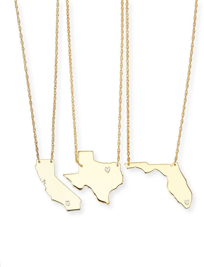 Moon and lola personalized state pendant necklace gold missouri moon and lola personalized state pendant necklace gold missouri wyoming http aloadofball Gallery