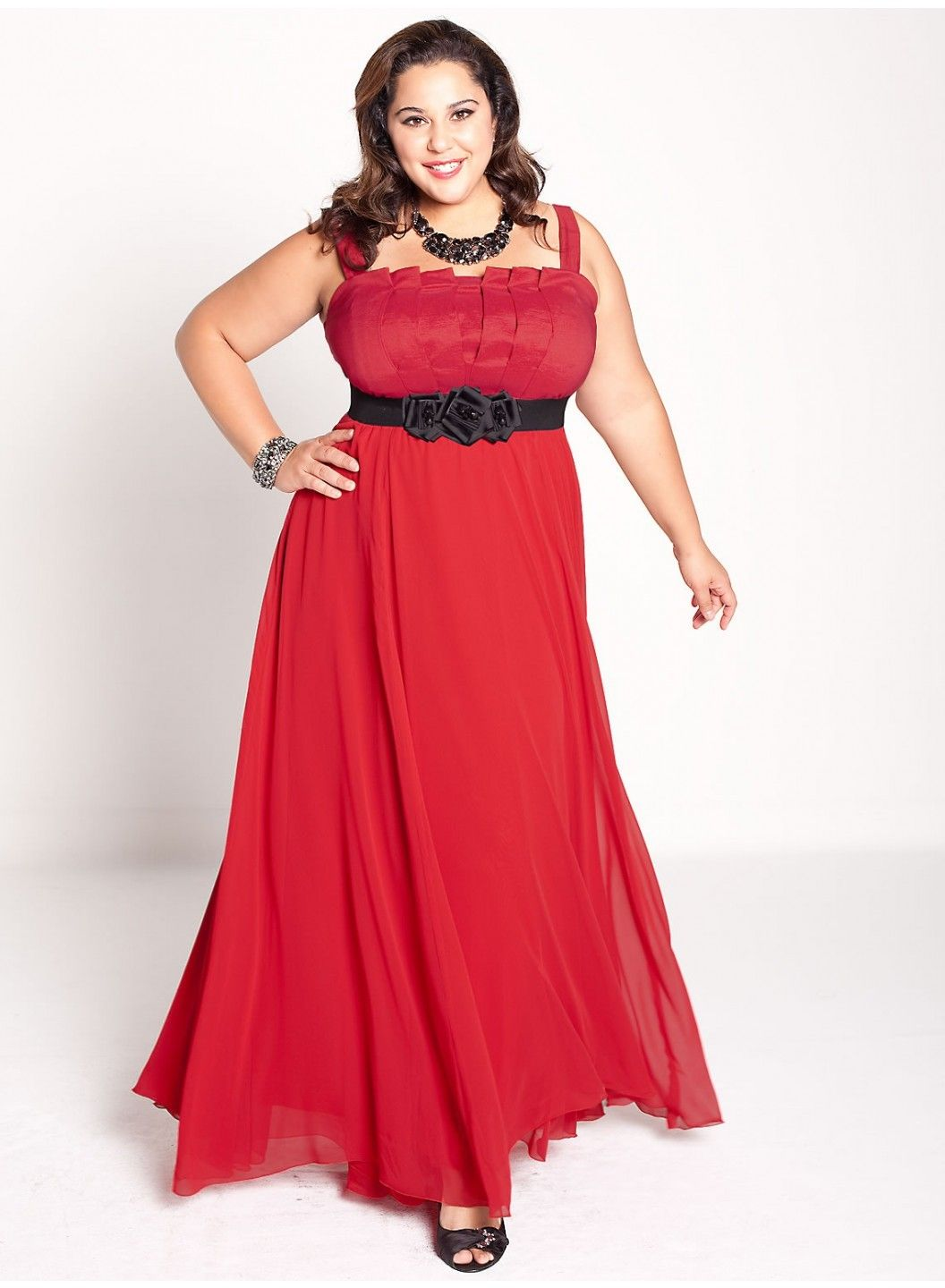 Robe longue chic grande taille