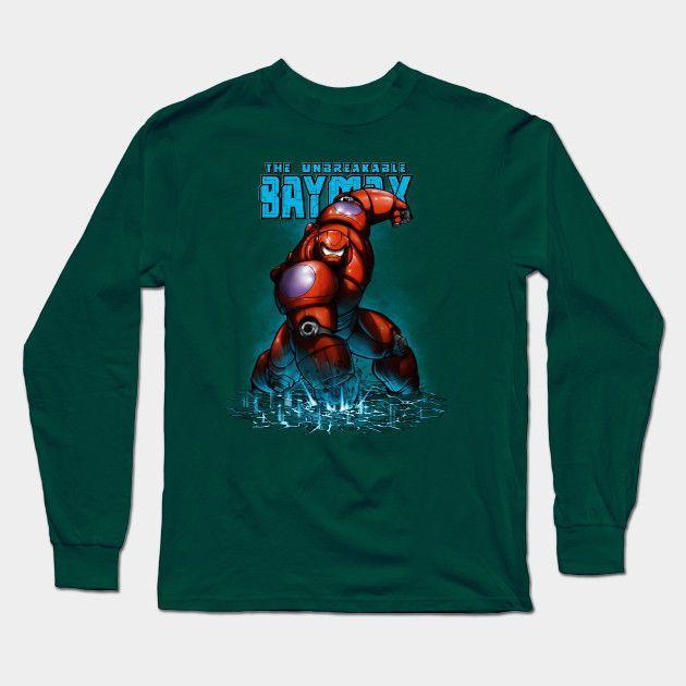 Unbreakable Hero Long Sleeve T-Shirt