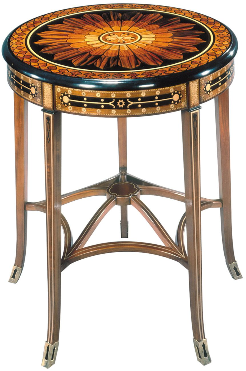 Paul schatz furniture portland or  saracenic occasional table  john widdicomb collection by stickley