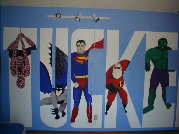 Boys Superhero Bedroom Ideas superhero+room+ideas | boys super fun superhero room - boys' room