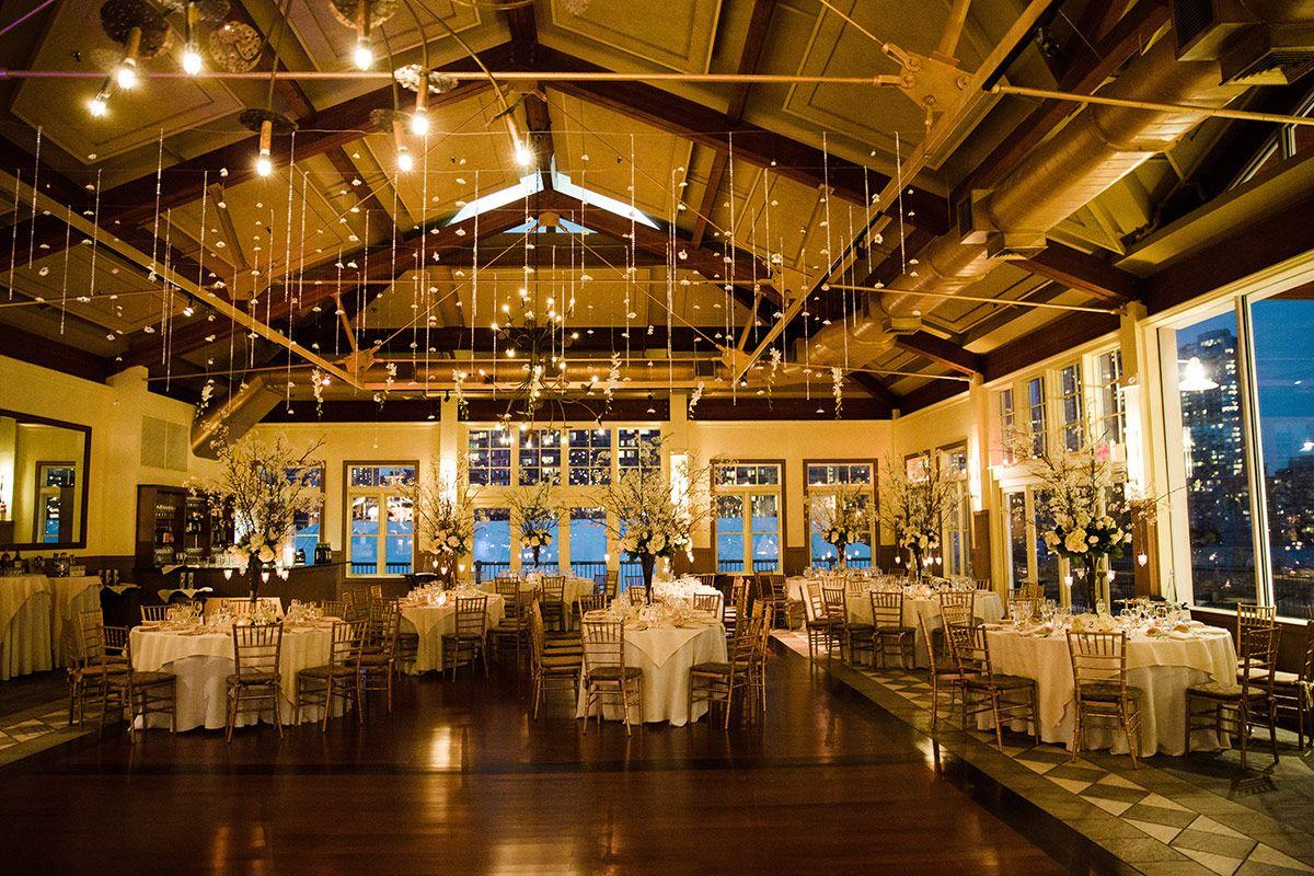 Jersey City Wedding Venues | A Jersey City Wedding At Liberty House Wedding Pinterest