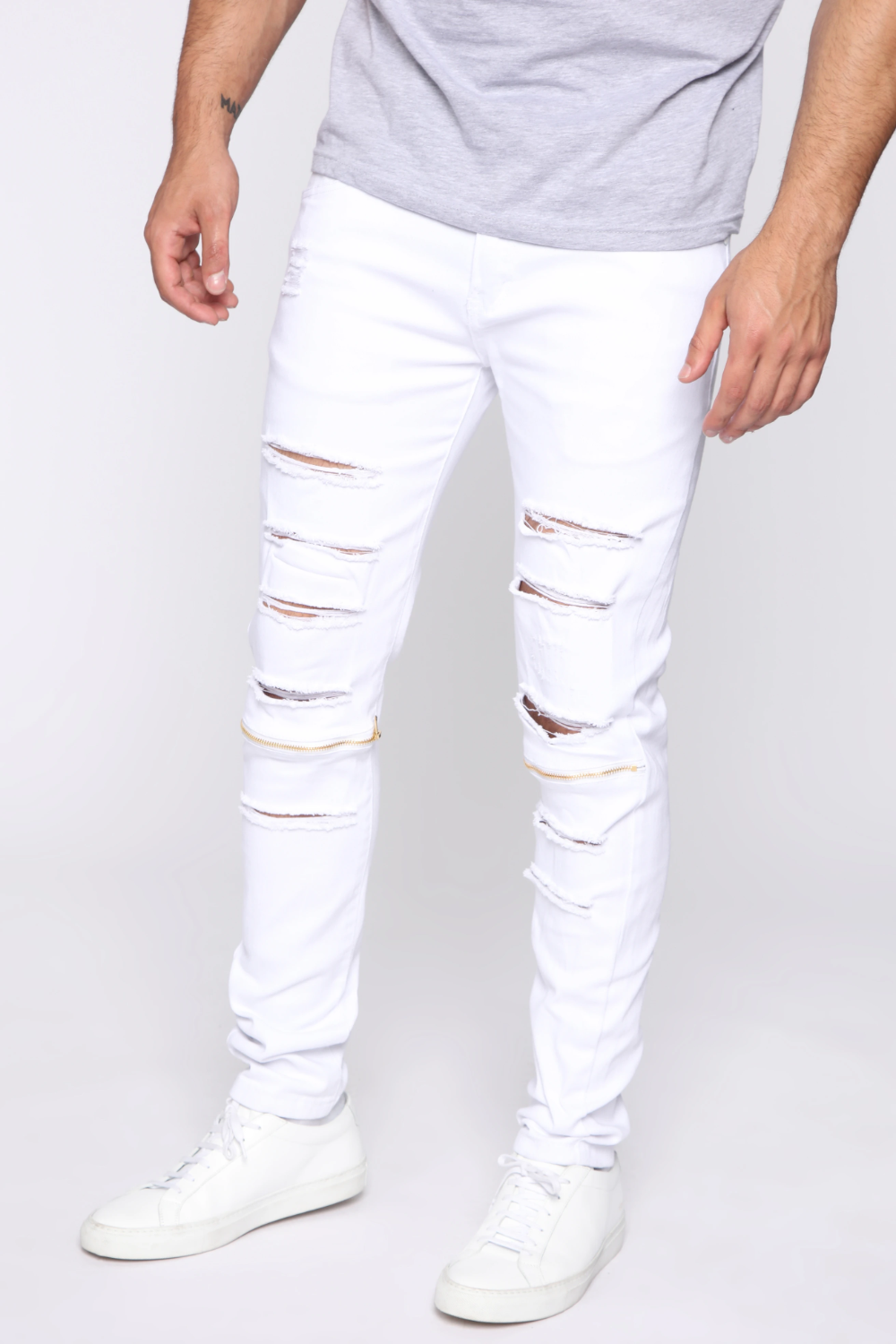 Capable Skinny Jeans White In 2021 White Jeans Men Mens Jeans Guide White Jeans [ 1500 x 1000 Pixel ]