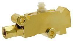 Pv4 Ac Delco 172 1361 Proportioning Valve Brass Finish For Disc