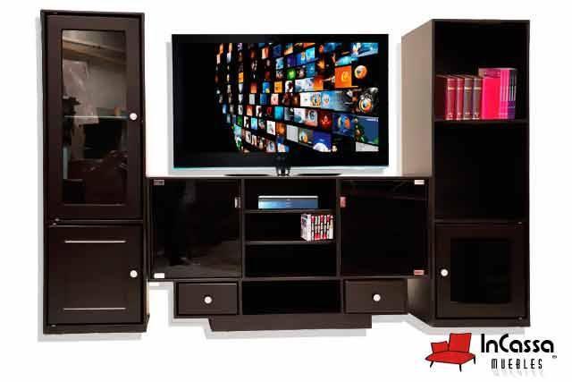 Centro de Entretenimiento Minimalista Mod ARMOR Incluye 1 mueble - mueble minimalista