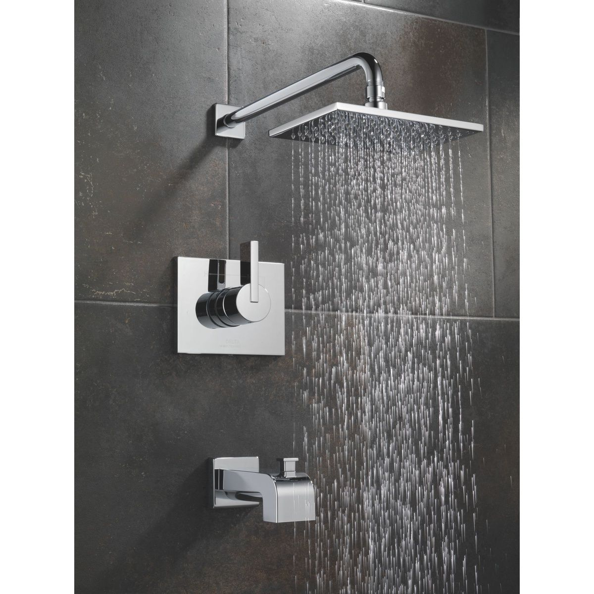 Delta Vero Showerhead With Images Tub And Shower Faucets