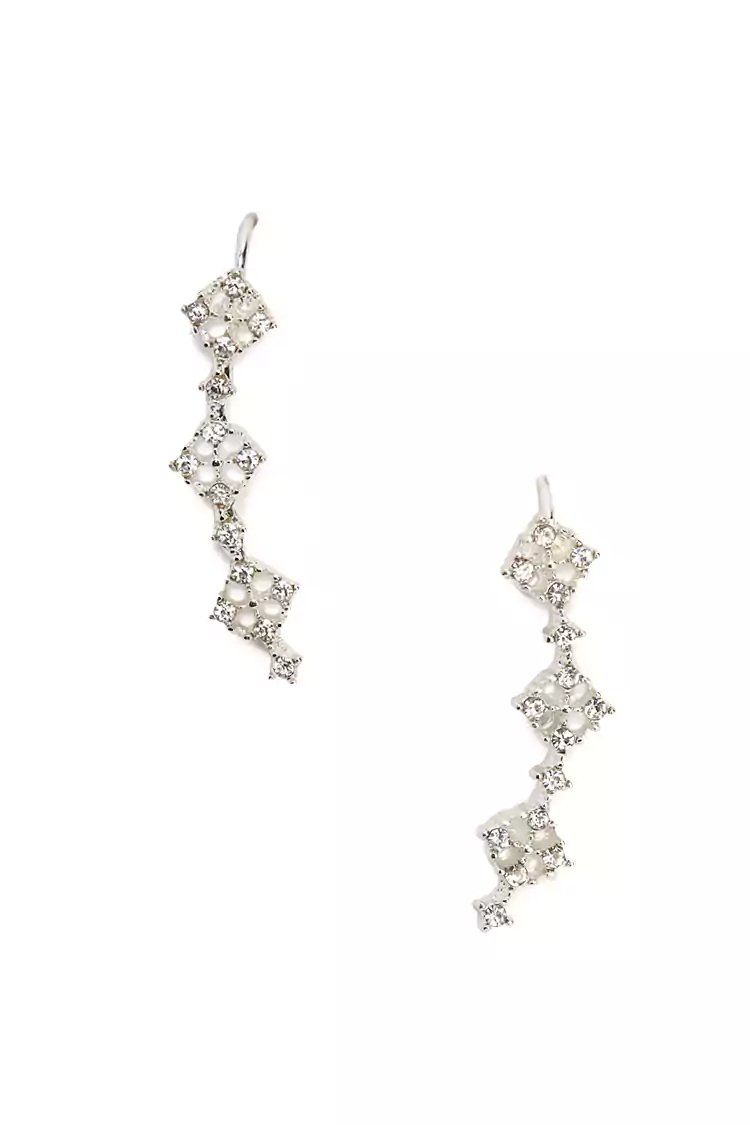 2005c85a1 Product Name:Rhinestone Cutout Ear Pins, Category:ACC, Price:3.9 ...