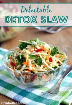 Delectable detox slaw easy and delicious sugar free vegan delectable detox slaw nobody will know that this is a diet friendly detox food forumfinder Gallery