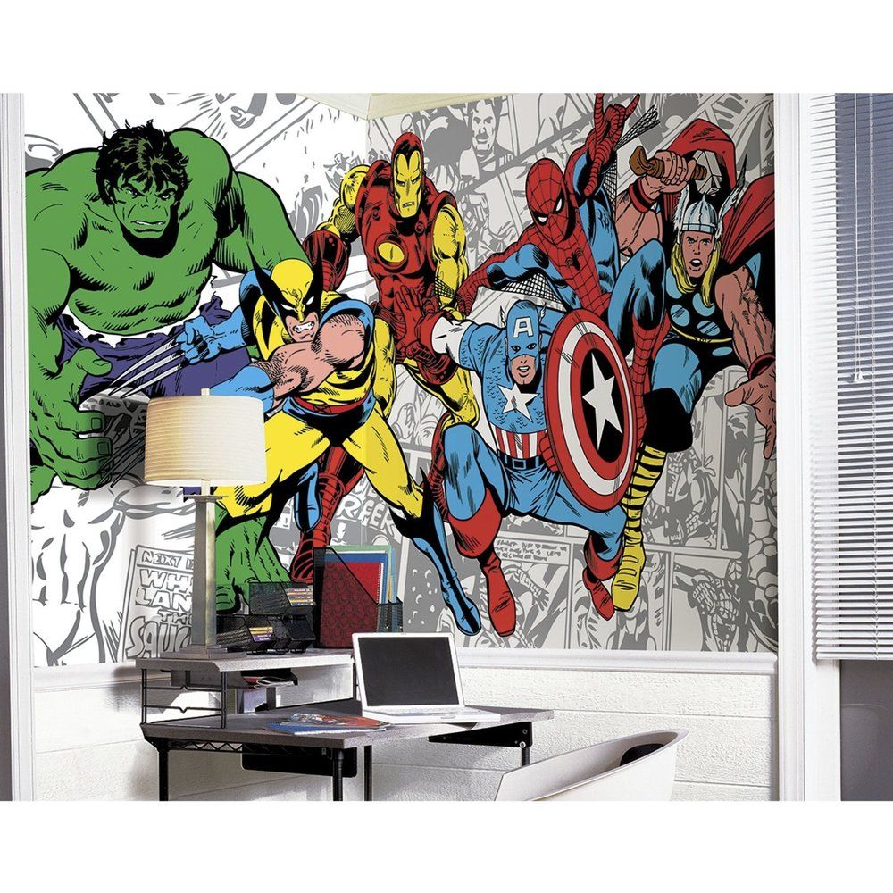 Marvel Clics Character Mural 6 X10 5 Ping S On Roommates Wall Decor