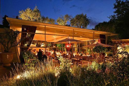 Restaurant Le Jardin Des Sens Restaurants Interiors Design