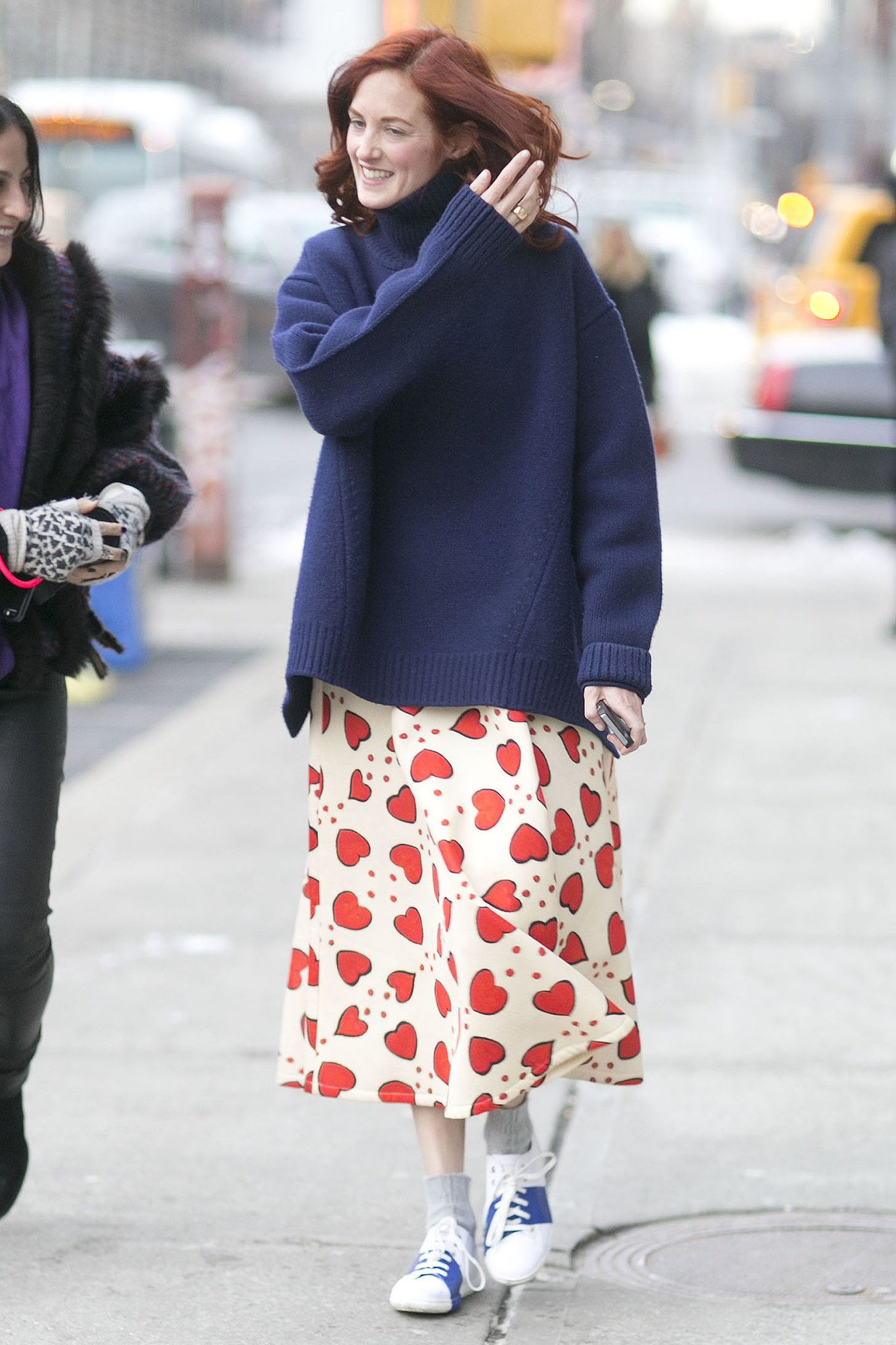 Taylor Tomasi Hill had a school-girl inspired moment. Source: Tim Regas                                                        Source: Getty                                        39 / 152