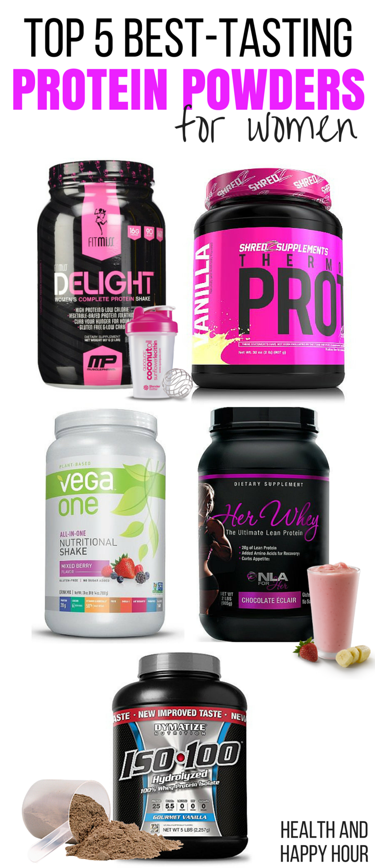 Top 5 Best Tasting Protein Powders For Women Workout Gear