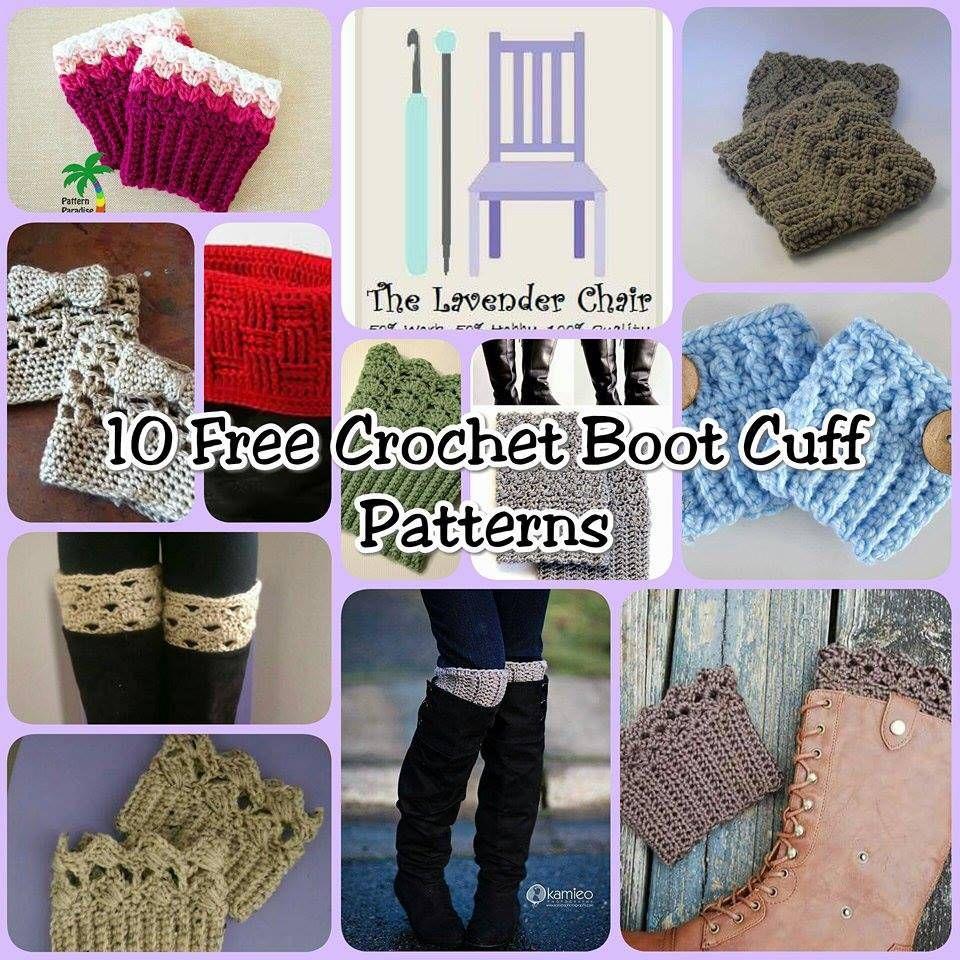 Free Crochet Boot Cuff Patterns | crochet boot cuffs | Pinterest