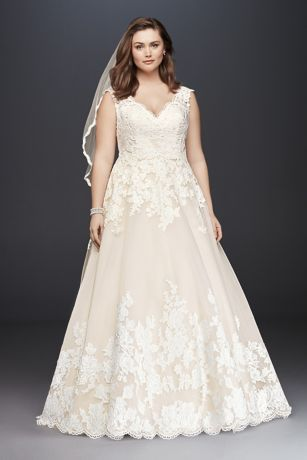 Princess dreams come true in a traditional ball gown plus-size ...