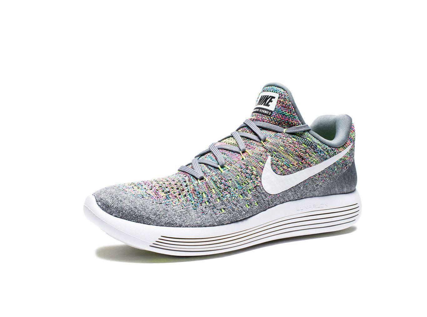 separation shoes 7e2c7 89a03 ... nike lunarepic low flyknit 2 cool grey white volt blue glow