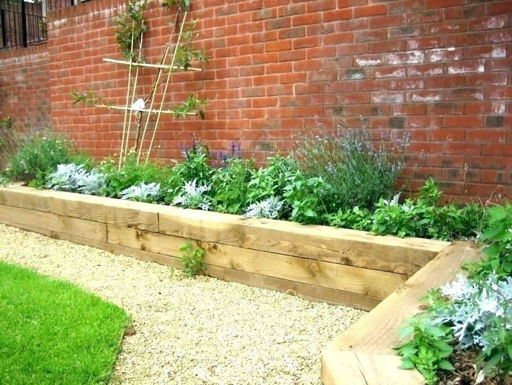 30 Fancy Garden Bed Borders Ideas For Vegetable And Flower Coodecor Backyard Landscaping Raised Garden Bed Plans Raised Garden Designs