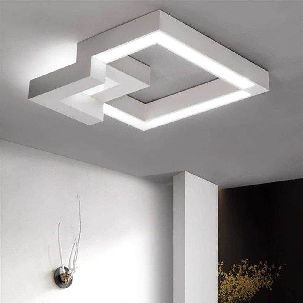Illuminazione Per Soggiorno Moderno zmh lampada da soffitto a led regolabile con telecomando