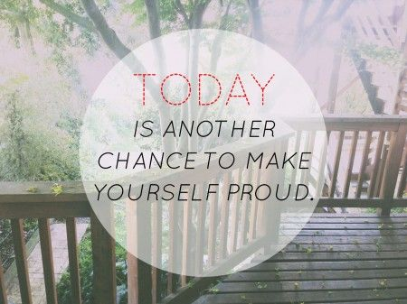 Today is another day to make yourself proud from Starling Fitness