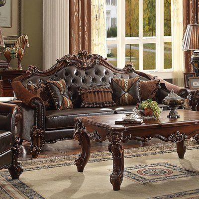 Astoria Grand Leedom Sofa Living Room Sets Furniture
