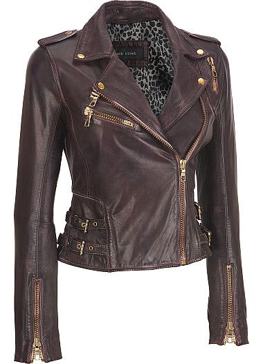 We just got this jacket in our store! : ) Wilsons Leather