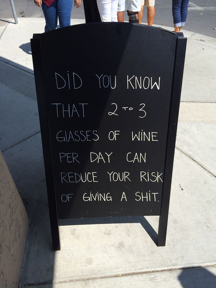 15+ Of The Funniest Bar & Cafe Chalkboard Signs Ever | Bored Panda