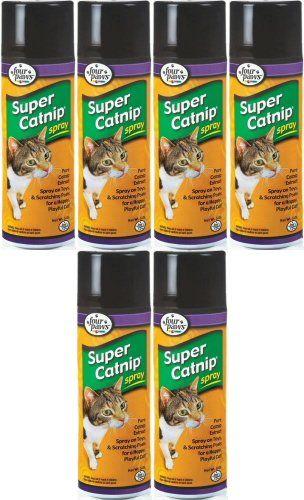 Four Paws Super Catnip Spray 30oz 6 x 5oz * For more