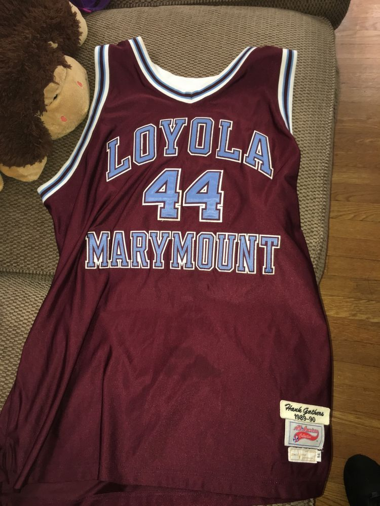Hank Gathers Authentic Throwback College Jersey