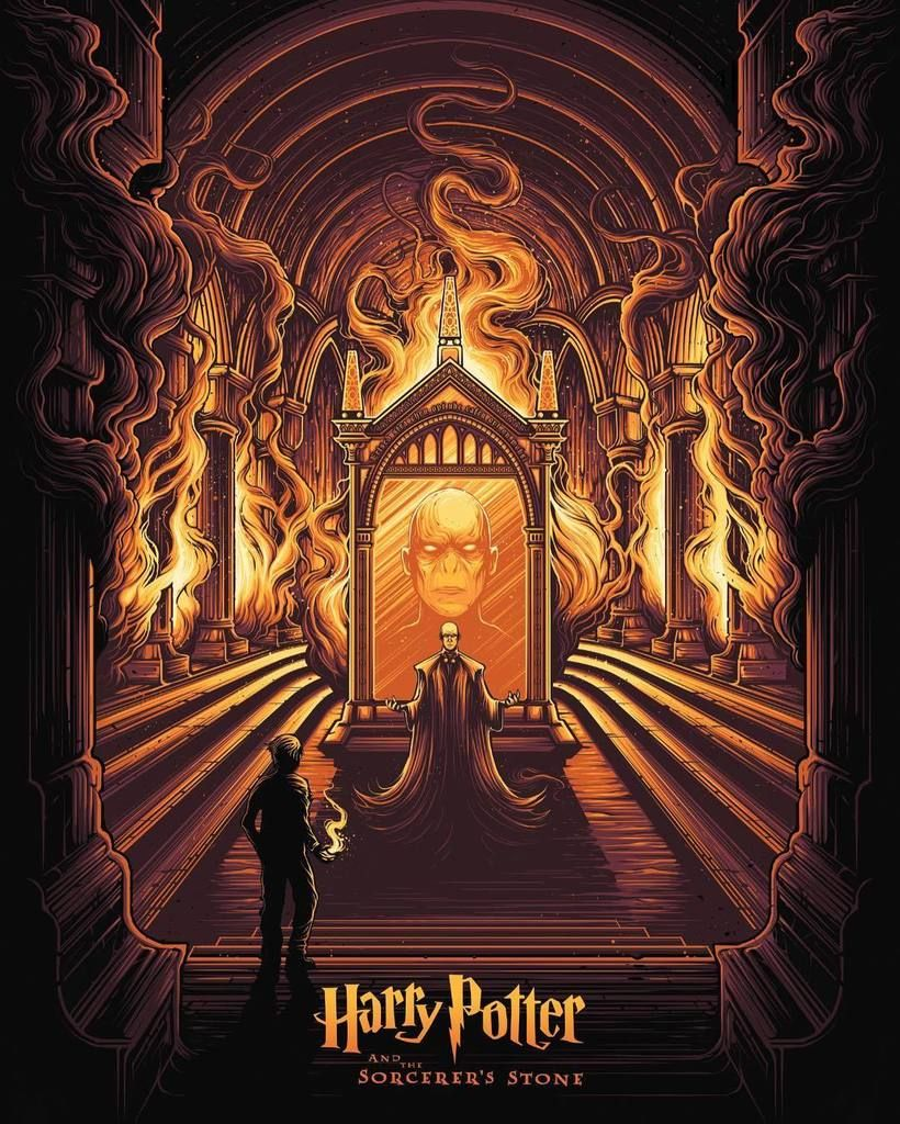 harry potter and the sorcerer 39 s stone by dan mumford. Black Bedroom Furniture Sets. Home Design Ideas