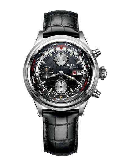 CONTEST - Win a Ball Watch Trainmaster Worldtime Chrono from www.worldtempus.com