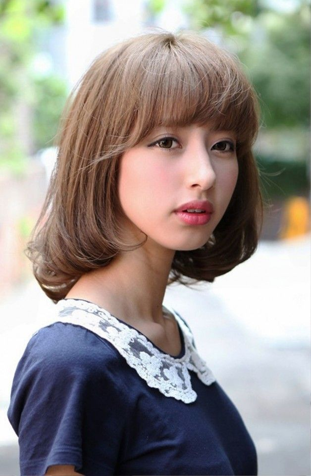 Cute Japanese Bob Hairstyle For Girls Be Hairstyles Japanese Hairstyle Hair Styles Bob Hairstyles