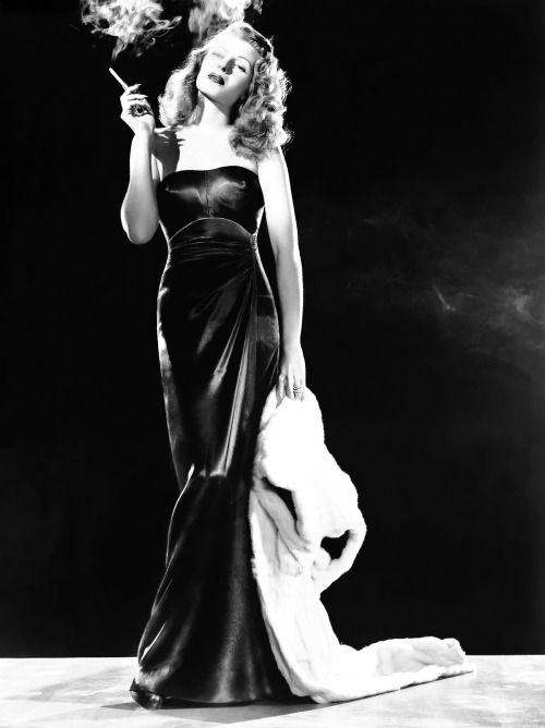 "Rita Hayworth as ""Gilda"", 1946."