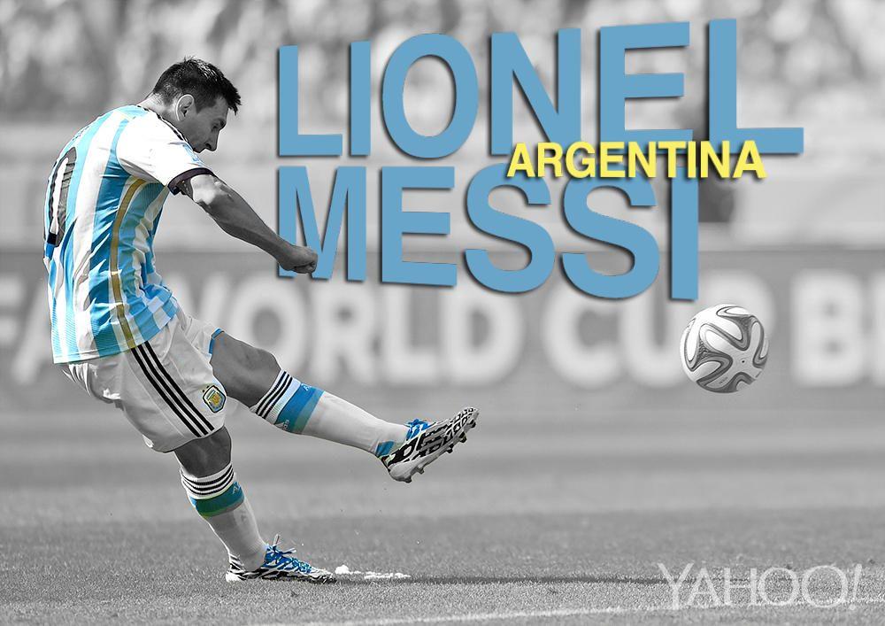 Lionel Messi, Argentina Entering the tournament, the