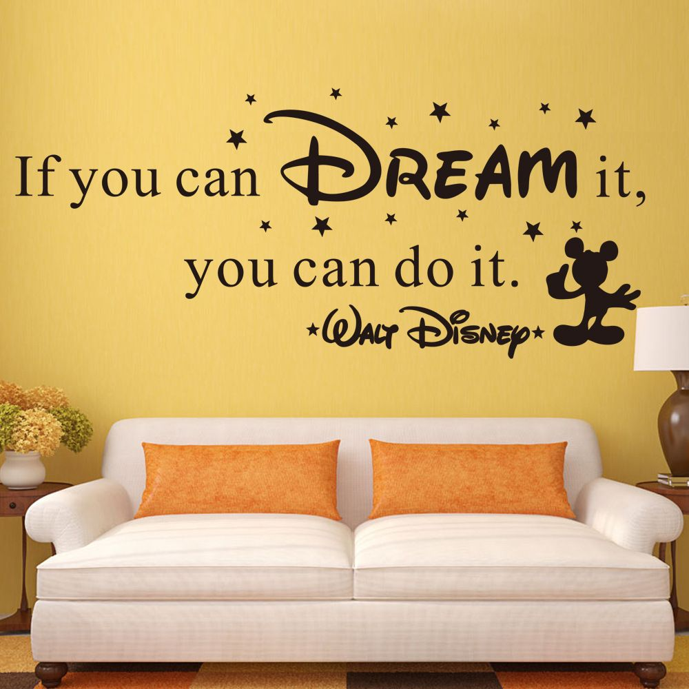 If you can dream it living room office children\'s room decorative ...