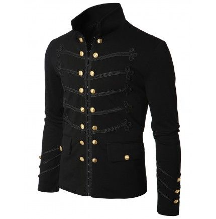 Mens Jacket Antique Short Jacket Blazer (GAK08:DOUBLJU)