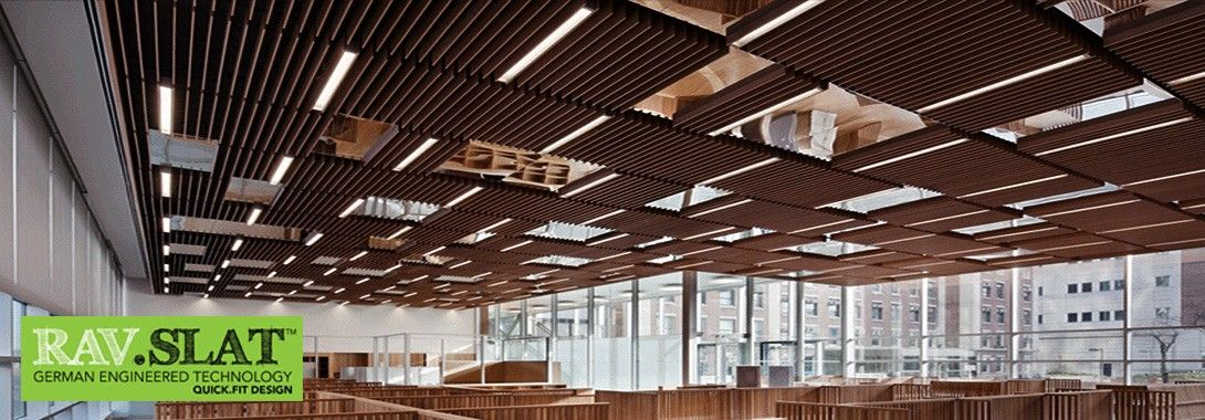 Beautiful Slat Ceiling System Rulon International Inc Wood Ceilings Acoustical Wall  Systems. 9wood Series. Custom