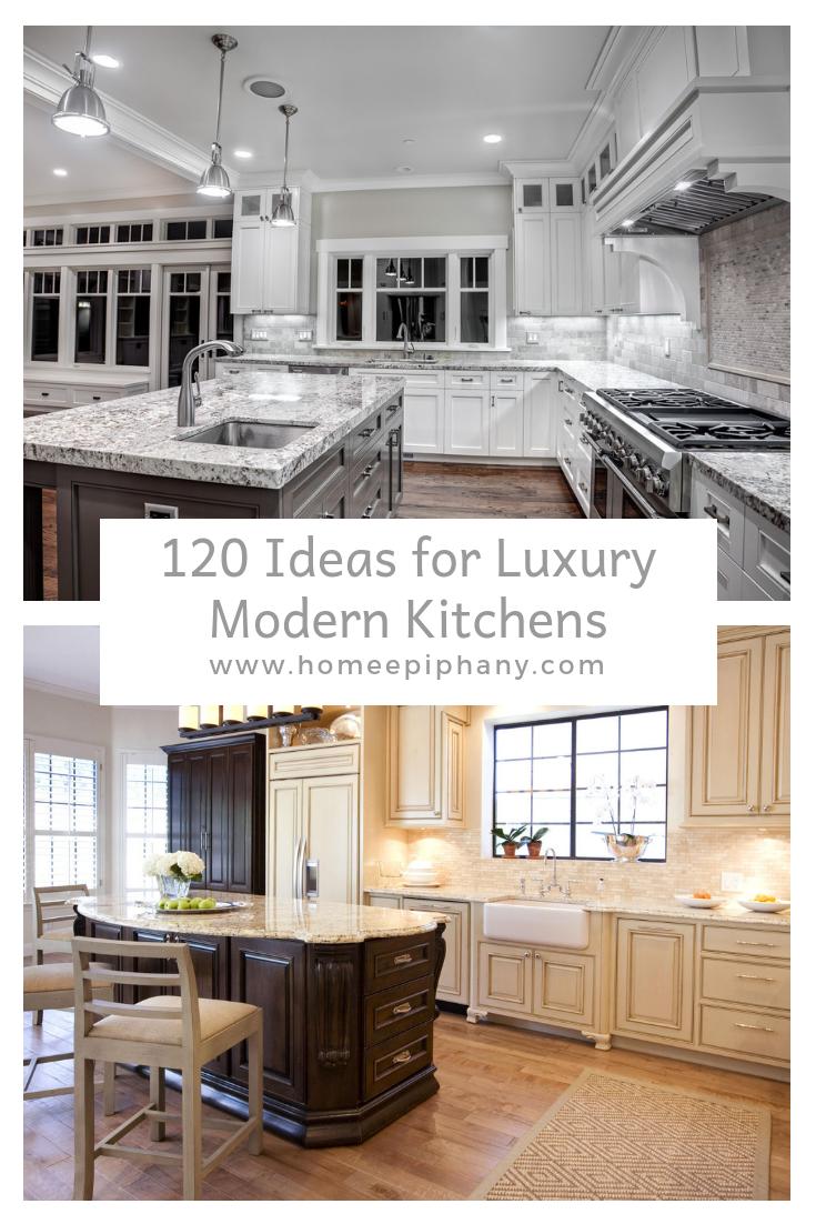 120 Custom Luxury Modern Kitchen Designs Design Kitchens