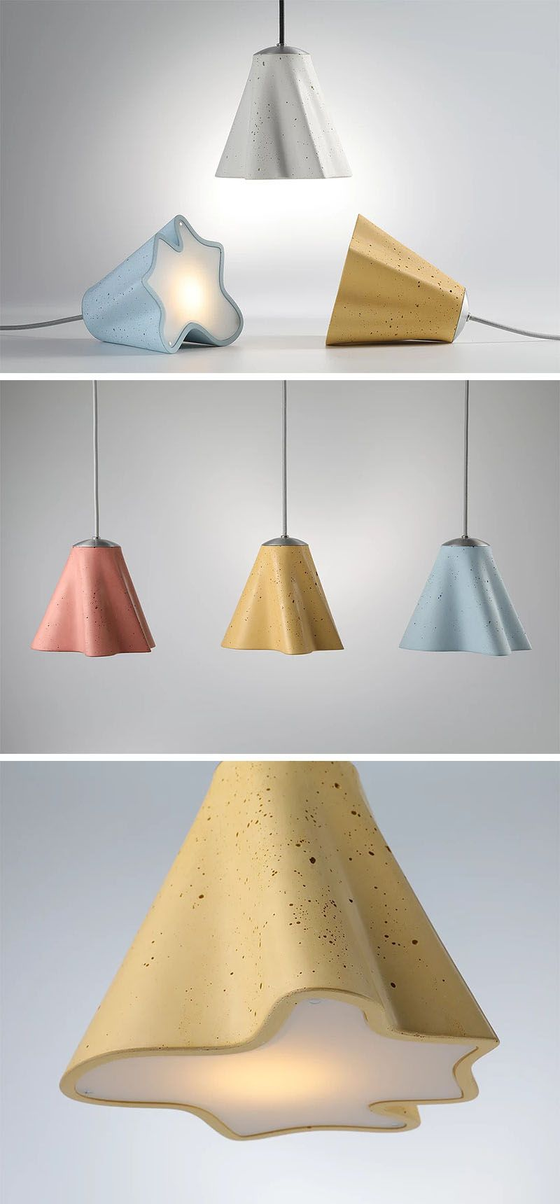 Three new concrete lighting collections by ardoma design pinterest