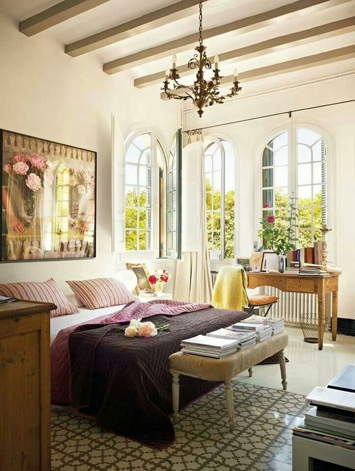 Dormitorio Decoracion interior Pinterest Dormitorio