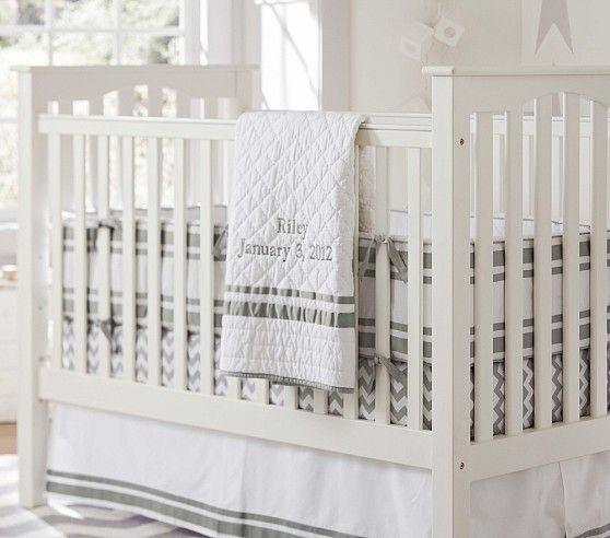Kendall Fixed Gate Crib | Pottery Barn Kids