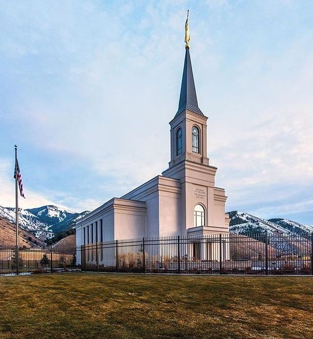 Star Valley Mormon Temples Lds Temple Pictures Lds Temples
