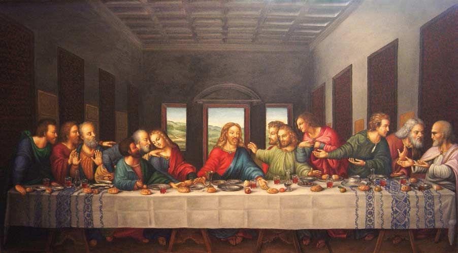 тайная вечеря пустой стол фото тем, кто мечтает