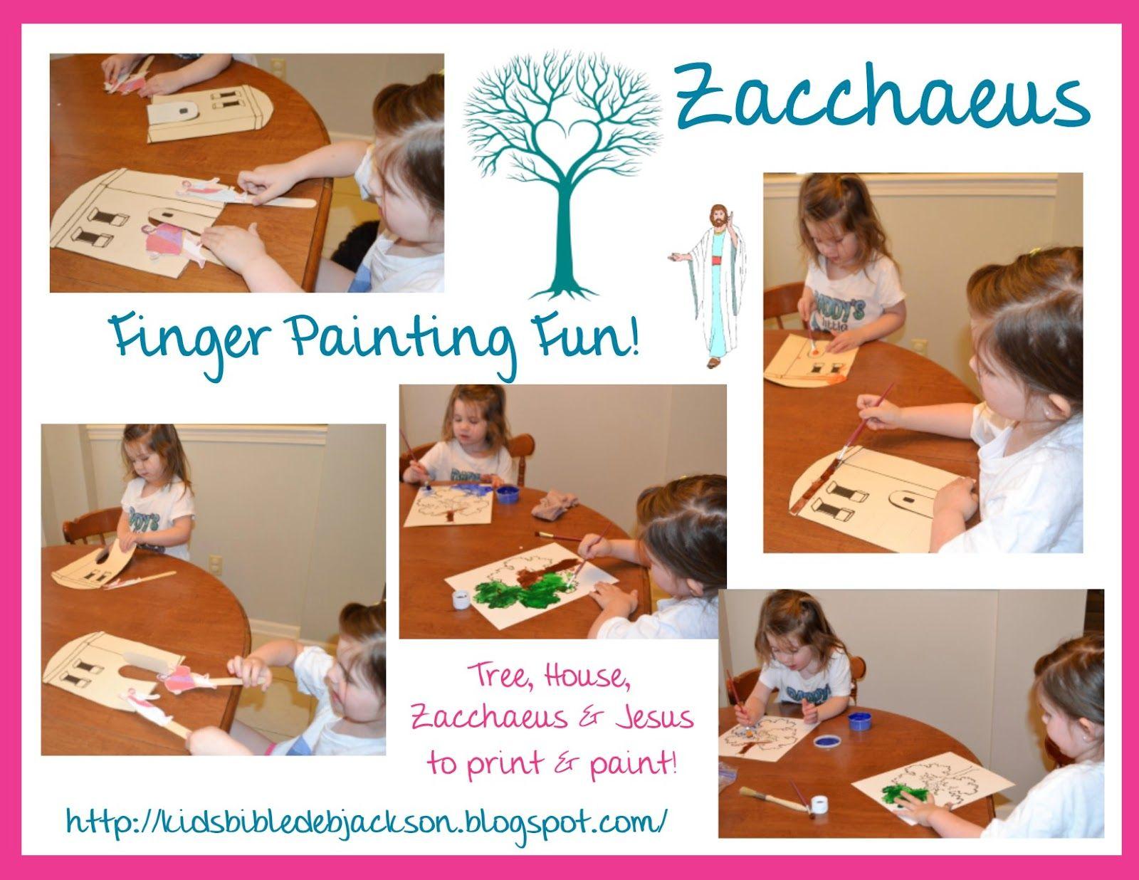 Preschool Alphabet Z Is For Zacchaeus