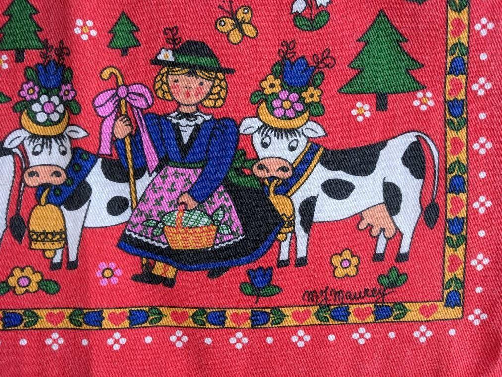 Tea Towel 1998 Calendar Tea Towels Australian Vintage