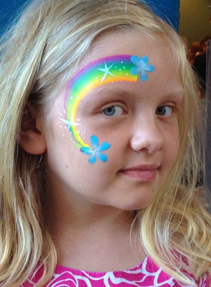 Butterfly | Face painting designs, Girl face painting