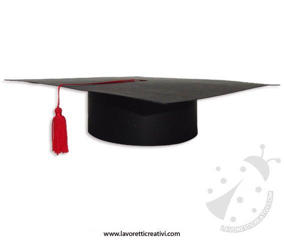 Cappello di laurea fai da te in carnevale  950e29560d56