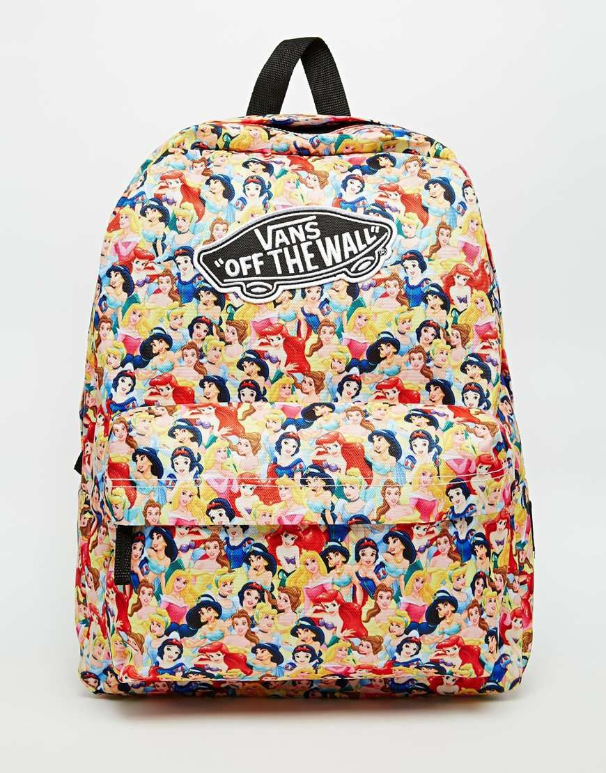 a4b6936205 Vans x Disney Princess Backpack. Everything Vans and Disney is awesome.