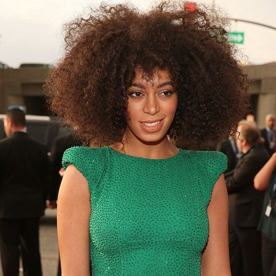 Grammys Beauty Solange Knowles Is A Natural Woman Natural Hair Styles For Black Women Solange Hair Beauty