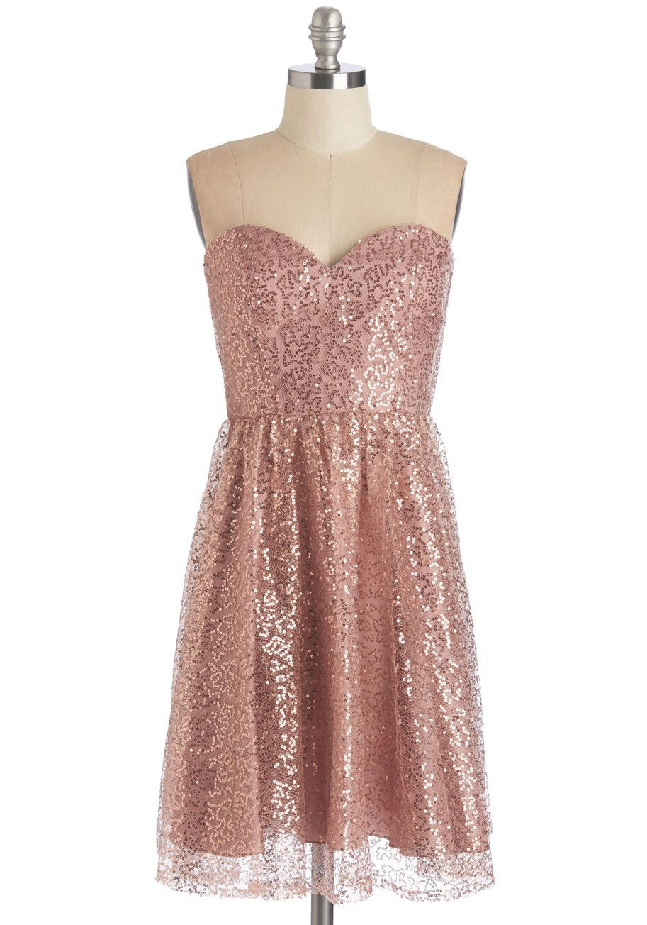 Glam Metal Moxie Graphic Tee | Blush pink dresses, ModCloth and ...
