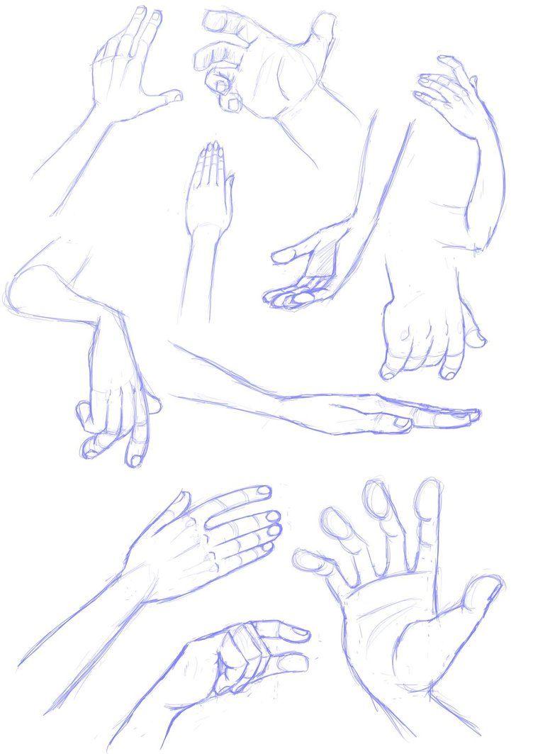 Hand sketches | by LuigiL on deviantART | Hands/Feet | Pinterest ...