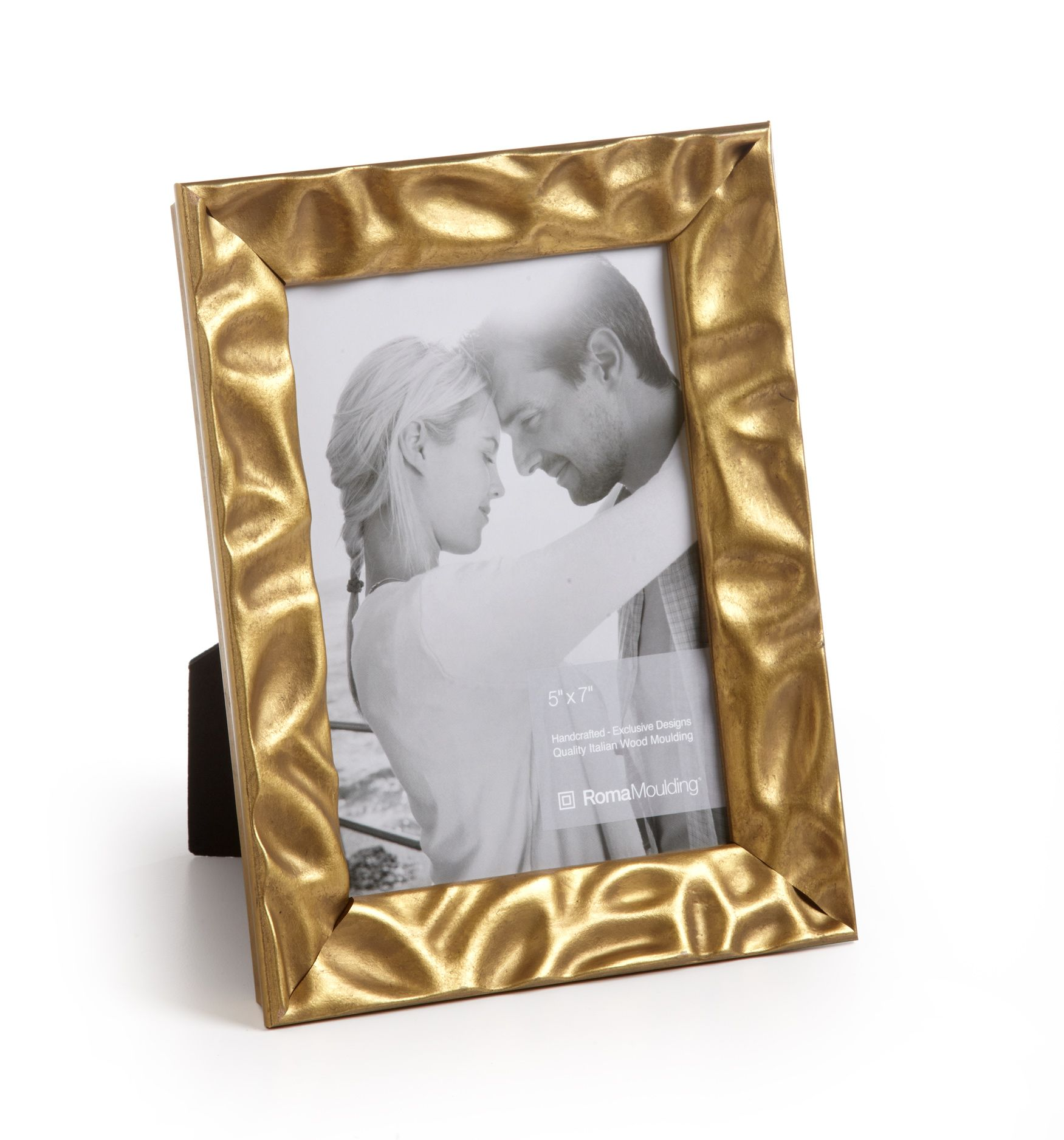 33055 Vintage 1 Gold Leaf Roma Photo Frame Roma Moulding Custom Picture Frame Frame Gold Photo Frames